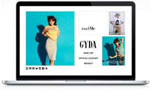 GYDA[ジェイダ]Official Site for 2014 Spring / Summer